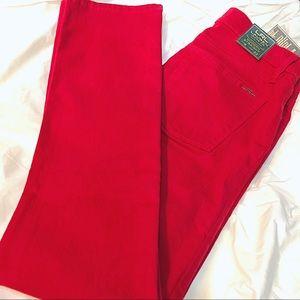 Ralph Lauren red jeans